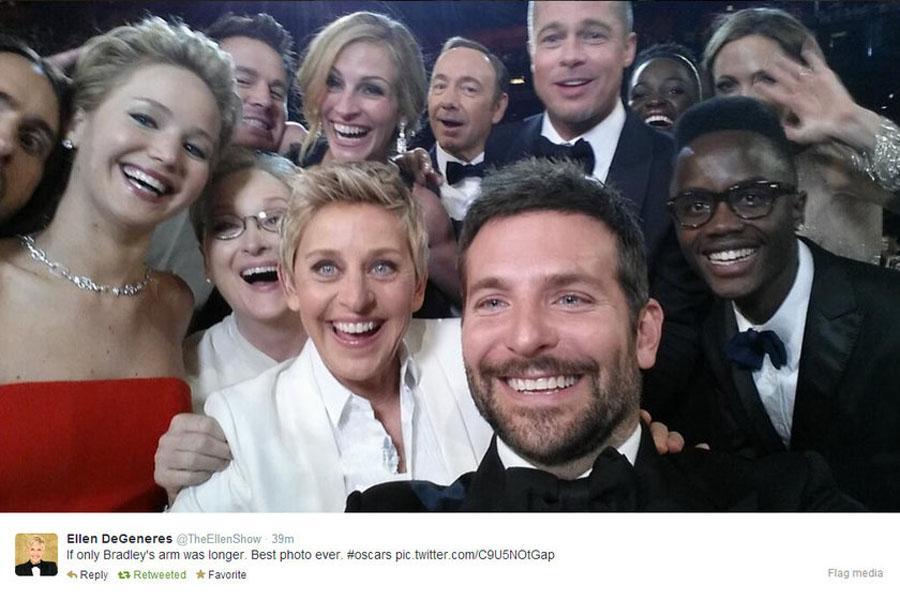 Degeneres+Shines+at+Oscars