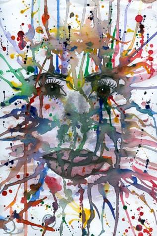 picture for IB Art - splatter