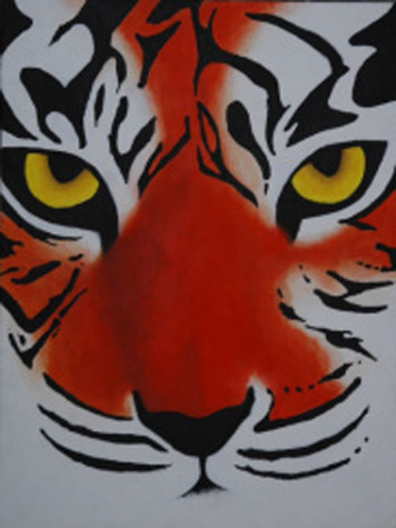 picture for IB Art - tiger