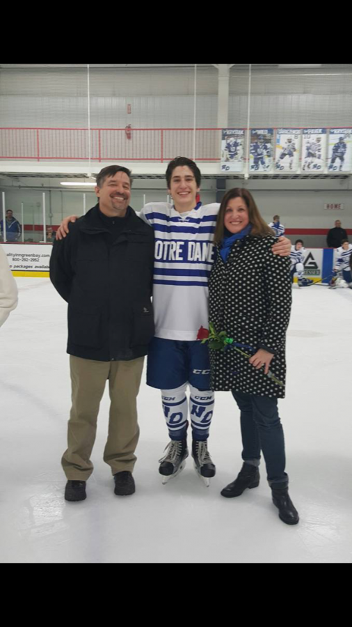 NDA Hockey Retires #10 Jersey in Honor of Pavek Brothers