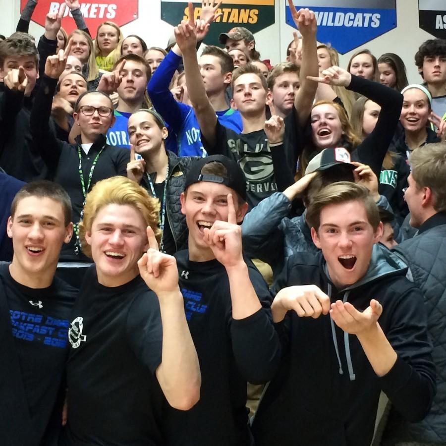 Triton+fans+are+all+smiles+after+the+girls%27+basketball+game+win+in+Pulaski.