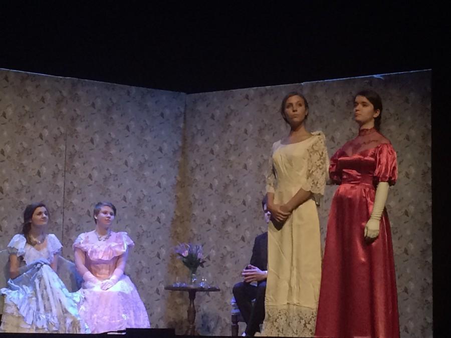 Katie Gapinski, Rebecca Boucher, Ireland Sweeney and Nadine Druar