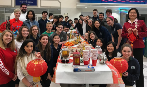 Chinese Club Welcomes New Year with Party