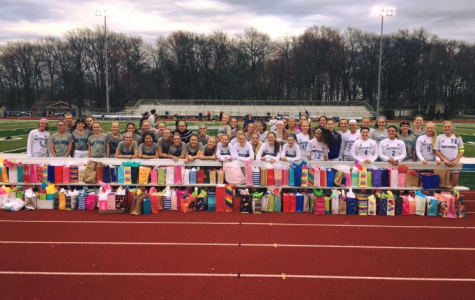 Triton & Trojan Soccer Teams Give 177 Birthday Bags to St. Pat's Pantry