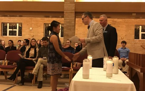 National Honor Society Inducts 65 New Members