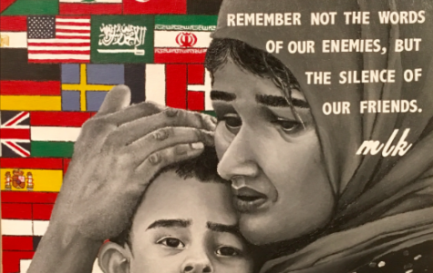 NDA Art Students Major Winners in MLK Art Contest