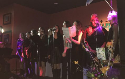 Tritones Entertain Huge Crowd at Blue Opus