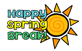 Academy Chatter:  What are your plans for spring break?