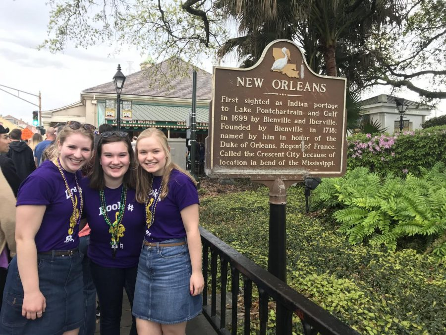 Band Students Experience the Culture, Music, Food of New Orleans