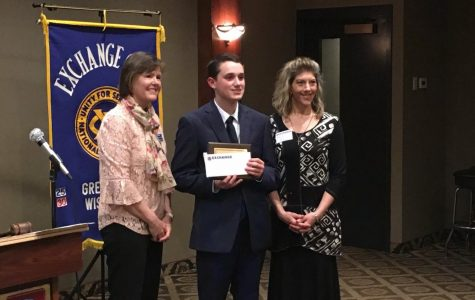 Noah Eastman Receives Exchange Club A. C. E. Award