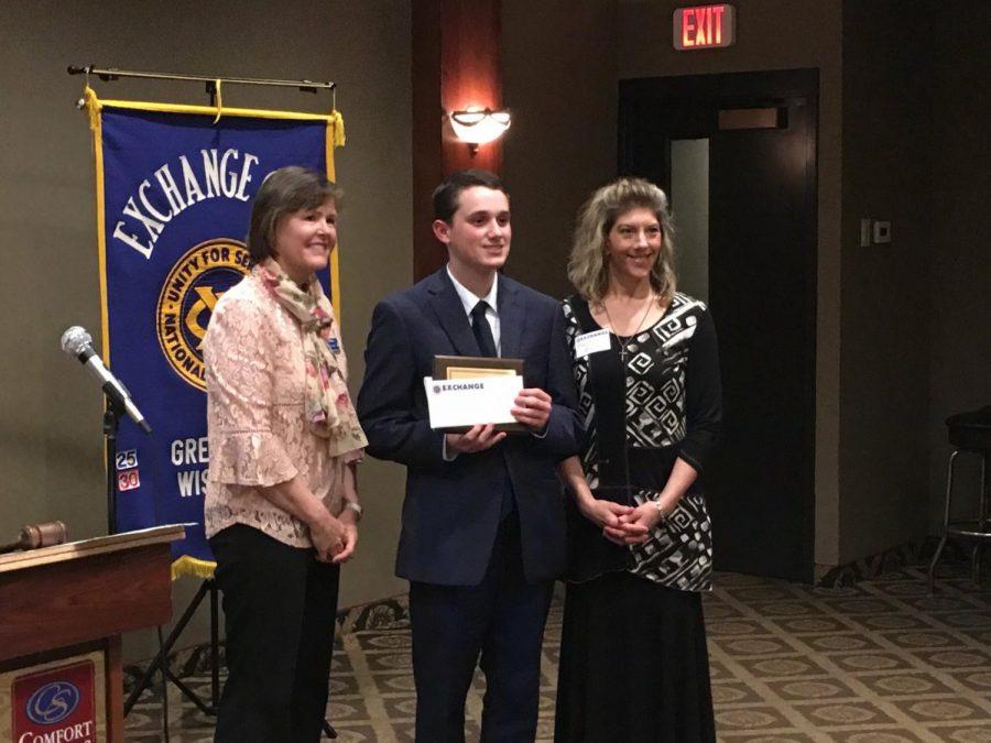 Noah Eastman Receives Exchange Club A. C. E. Award
