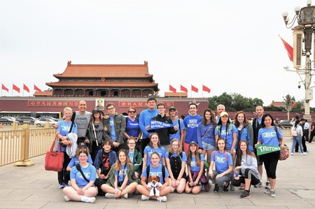 NDA Students, Parents, Teachers Tour China for Nine Days
