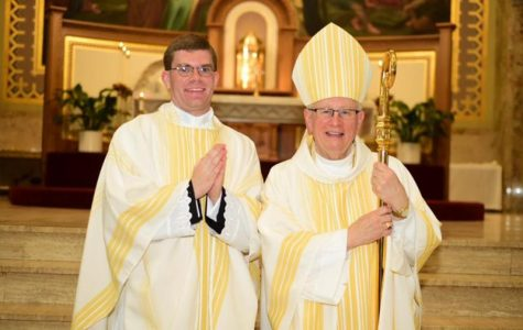 Father Kyle Sladek Comes 'Home' for Wednesday's Mass