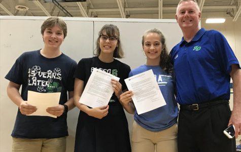 Griffitt, Edgar, Zellner Announced as National Merit Scholarship Semi-finalists