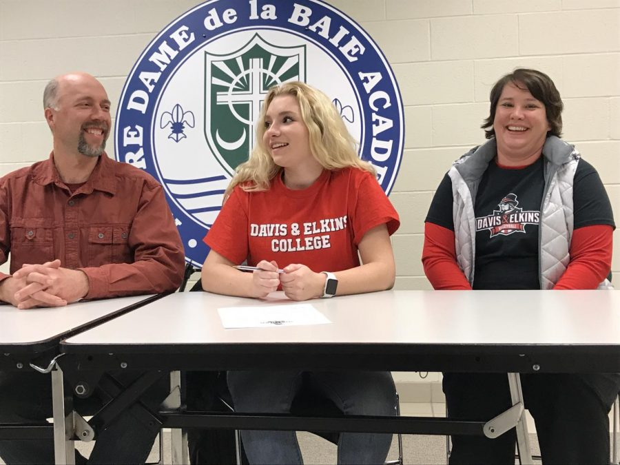 Jaloszynski Signs to Play Volleyball with Davis & Elkins College
