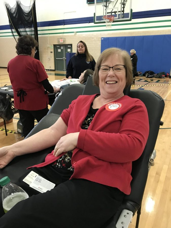 Blood Drive Successful Despite Bitter Cold, School Cancellations