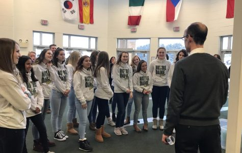 Dance Team Aims for State in Jazz and Pom