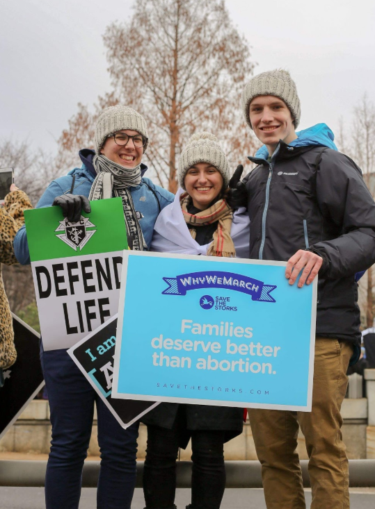 March for Life:  Pilgrimage from Telč to Washington D.C.