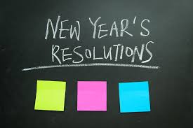Academy Chatter:  What is your New Year's Resolution and why did you choose it??