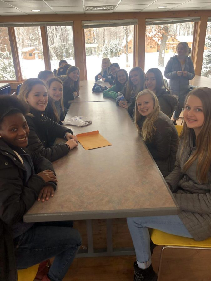 Freshman Retreats Stress Growth in Relationships--with Others & with God