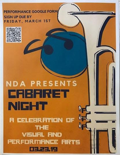 Plans Underway for Cabaret Night Saturday, March 23