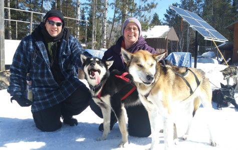 Tracy Troge Spends Spring Break Dog Sledding in Minnesota