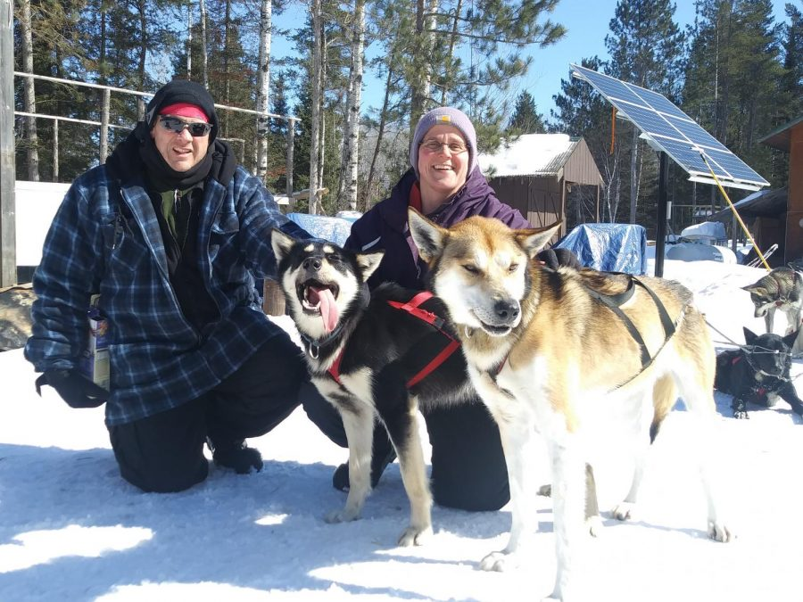 Tracy Troge Spends Spring Break Dog Sledding in Minnesota