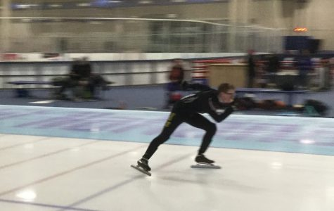 Junior David Scolare Ranks 14th in Nation in Speed Skating