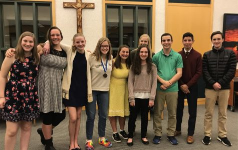 Eight NDA Freshmen Compete in Optimist Club Contest