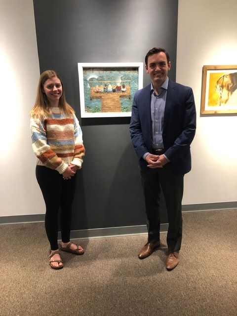Congressman Gallagher Selects Stover's Artwork for His Conference Room