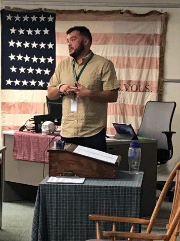 Alexander Enjoys Classroom, Focuses on Student-Teacher Relationships