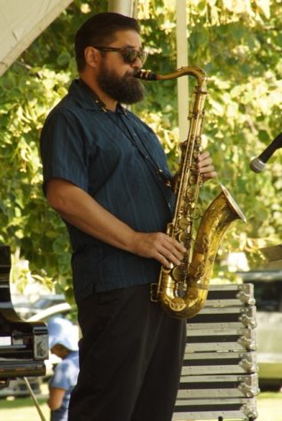 Band Director Steve Johnson Plays with Big Mouth, Popular Local Band