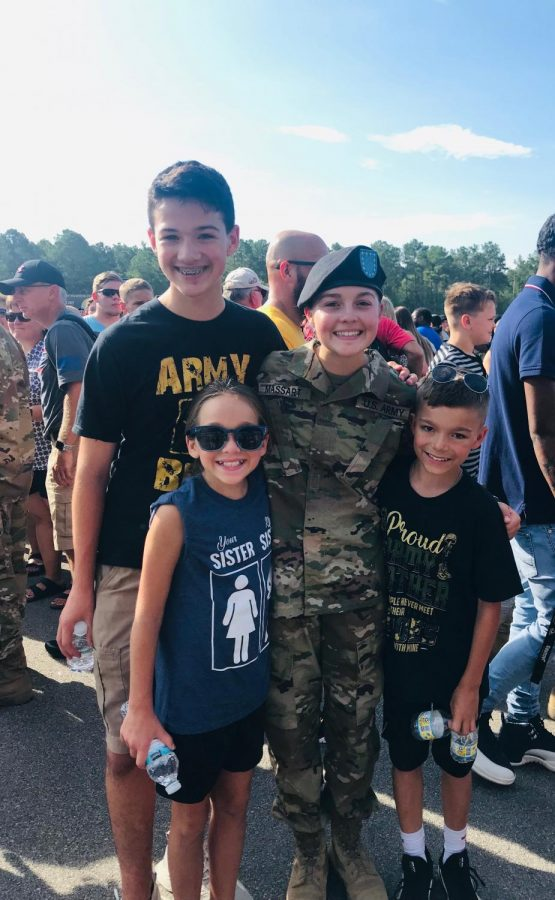 Massart Completes Army Basic Combat Training, First Step in Her Dream
