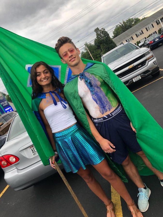 Fan Man & Mermaid Enjoy Role of Spirit Leaders