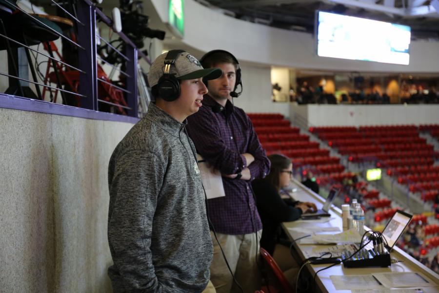 Sophomore Joey Bonadonna Kicks Off Triton Sports Network with Interview of Kevin Harlan