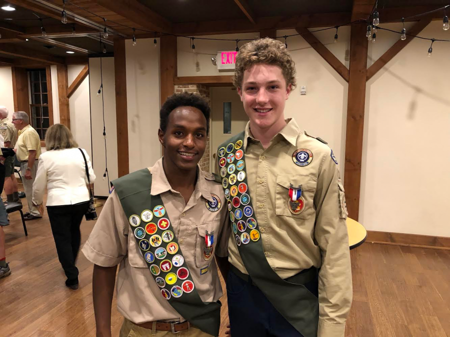Brada Adds 'Eagle Scout' to His Multiple Achievements
