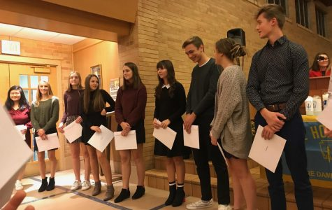 NHS Holds Induction Ceremony for Juniors & Seniors