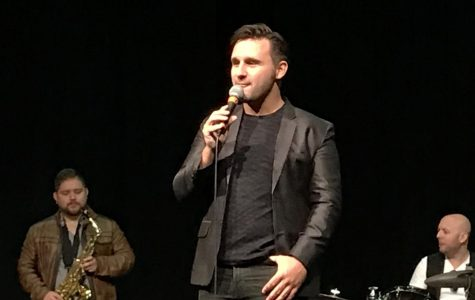 Broadway's Nicolas King Inspires NDA Musicians with his Story, Talent