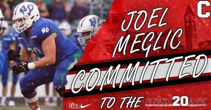 Senior Joel Meglic Commits to Cornell for Football