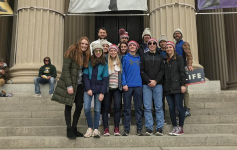 NDA Students Attend March for Life Rally in D. C.