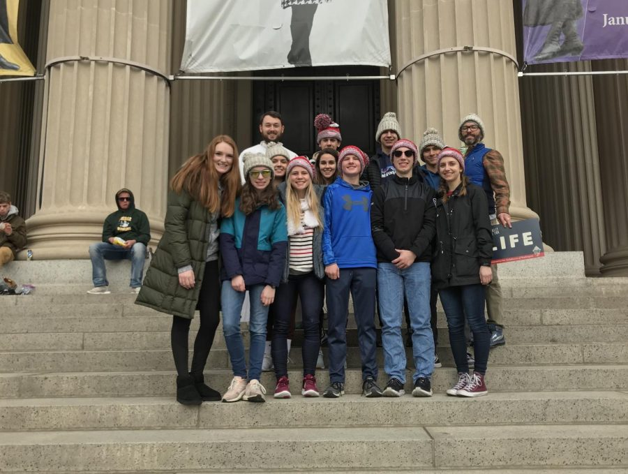 NDA+Students+Attend+March+for+Life+Rally+in+D.+C.