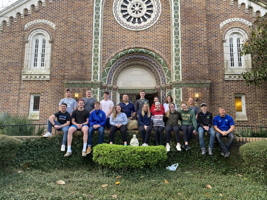 Campus Minister Takes His 11th Spring Break Service Team to Canton, Mississippi