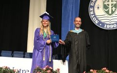 Threatening Storms Move Drive-By Graduation to Auditorium