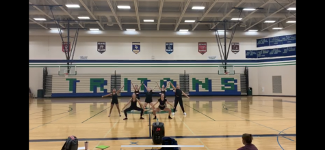 Dance Team Glad to Be Performing, Will Hold Tryouts This Week
