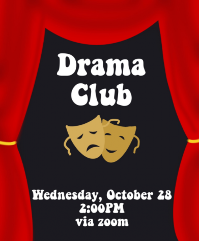 Drama Club to Meet, Practice Virtually