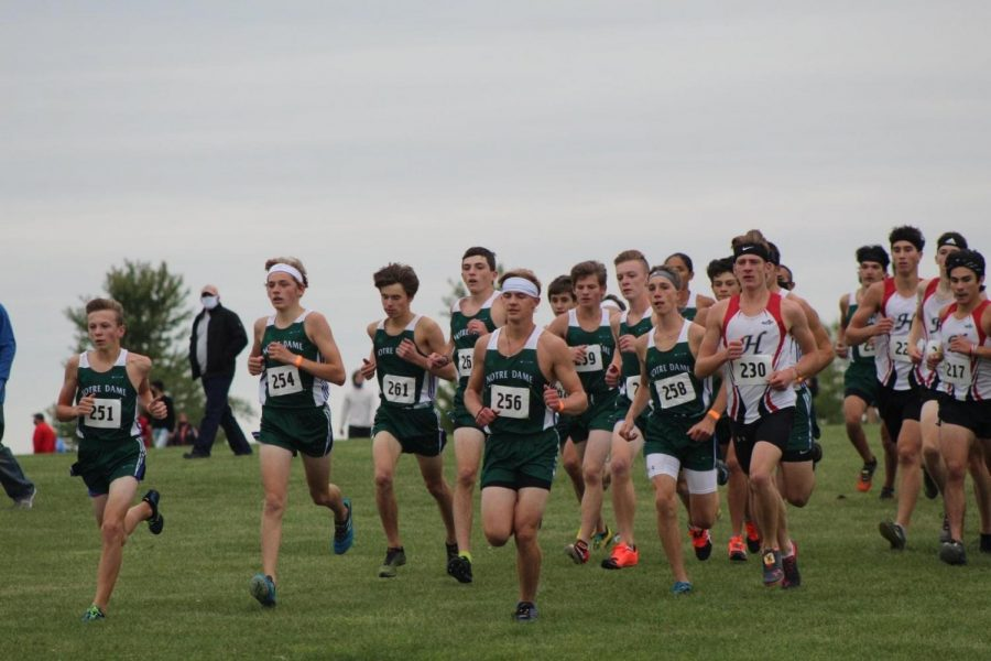 Freshman Varsity Runner Grateful for X-Country Season