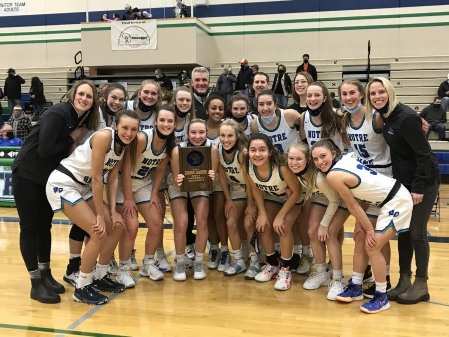 Lady Tritons Defeat West DePere for Regional Championship