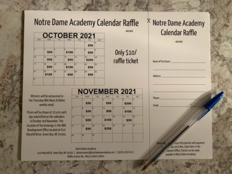 Calendar Raffle Explained, Promoted as Essential Fundraiser for NDA
