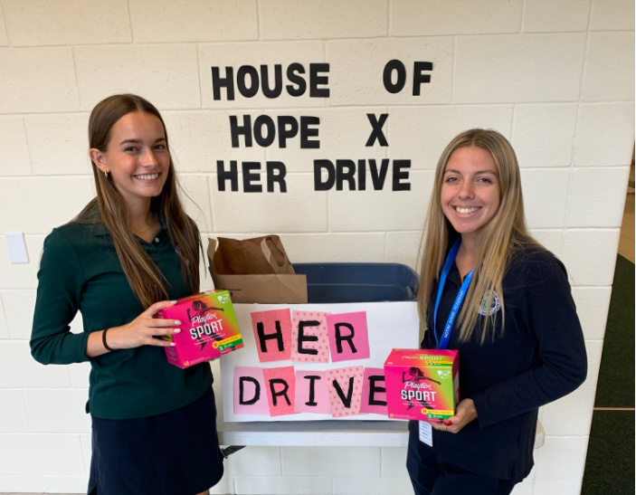 Two Seniors Spearhead Her Drive for House of Hope