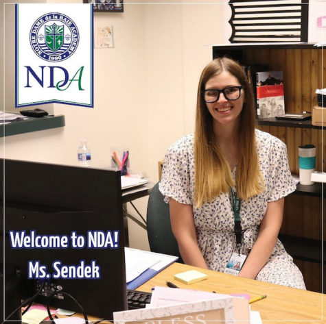 Miranda Sendek:  NDAs Newest English Teacher
